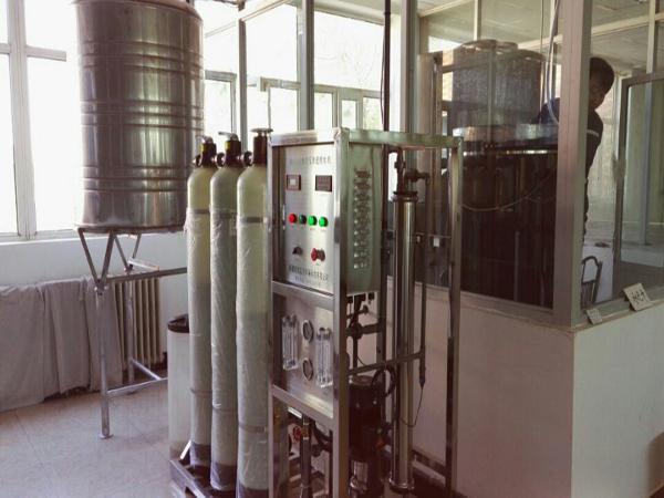 新疆中信国安酒业有限公司净化水设备工程