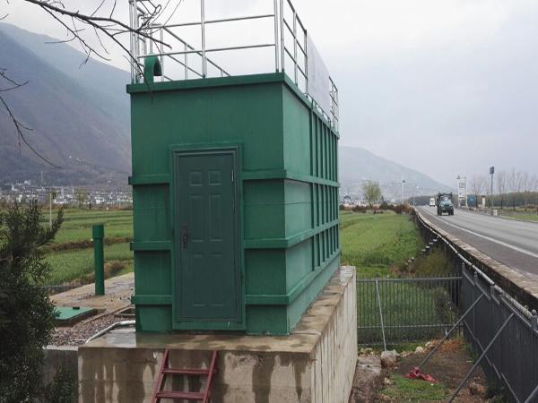 伊犁南疆新农村建设污水处理工程