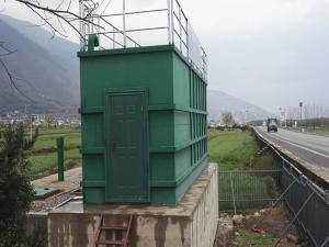阿勒泰南疆新农村建设污水处理工程