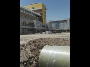 新疆轮台县卫计委污水处理工程