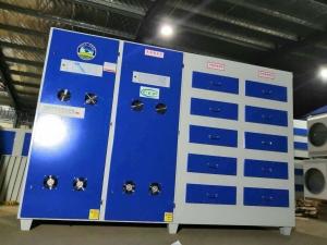 阿克苏环保箱光氧废气处理一体化设备